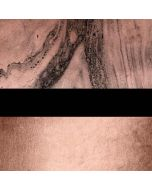 Rose Gold and Black Marble Generic Laptop Skin