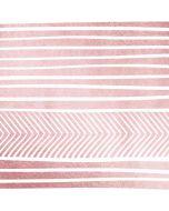 Pink and White Stripes Amazon Echo Skin