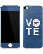 Vote Democrat Apple iPod Skin