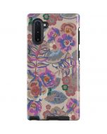 Warm Taupe Floral Galaxy Note 10 Pro Case