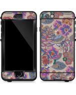 Warm Taupe Floral LifeProof Nuud iPhone Skin