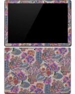 Warm Taupe Floral Surface Pro (2017) Skin