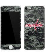 Washington Capitals Camo Apple iPod Skin