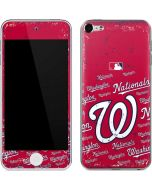 Washington Nationals - Cap Logo Blast Apple iPod Skin