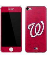 Washington Nationals - Solid Distressed Apple iPod Skin