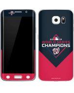 Washington Nationals 2019 World Series Champions Galaxy S6 Edge Skin