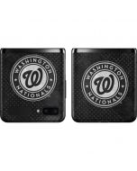 Washington Nationals Dark Wash Galaxy Z Flip Skin