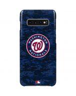 Washington Nationals Digi Camo Galaxy S10 Plus Lite Case