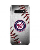 Washington Nationals Game Ball Galaxy S10 Plus Lite Case