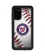 Washington Nationals Game Ball Galaxy S20 Waterproof Case