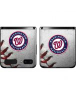Washington Nationals Game Ball Galaxy Z Flip Skin