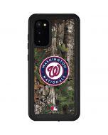 Washington Nationals Realtree Xtra Green Camo Galaxy S20 Waterproof Case