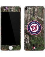 Washington Nationals Realtree Xtra Green Camo Apple iPod Skin