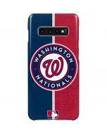 Washington Nationals Split Galaxy S10 Plus Lite Case