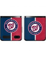 Washington Nationals Split Galaxy Z Flip Skin