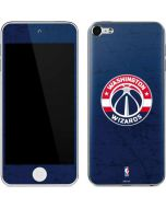 Washington Wizards Blue Distressed Apple iPod Skin