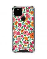 Watercolor Floral Google Pixel 5 Clear Case