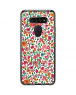 Watercolor Floral LG K51/Q51 Clear Case