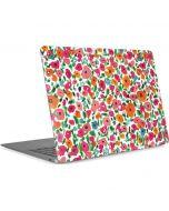 Watercolor Floral Apple MacBook Air Skin