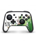 We Stick Together Nintendo Switch Pro Controller Skin