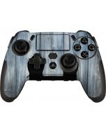 Weathered Blue Wood PlayStation Scuf Vantage 2 Controller Skin