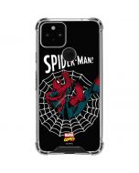 Web-Slinger Spider-Man Comic Google Pixel 5 Clear Case