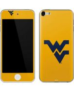 West Virginia Yellow Background Apple iPod Skin