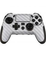 White Carbon Fiber PlayStation Scuf Vantage 2 Controller Skin