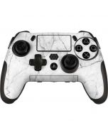 White Marble PlayStation Scuf Vantage 2 Controller Skin