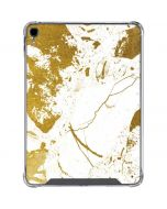 White Scattered Marble iPad Pro 11in (2018-19) Clear Case
