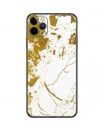 White Scattered Marble iPhone 11 Pro Max Skin