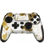 White Scattered Marble PlayStation Scuf Vantage 2 Controller Skin