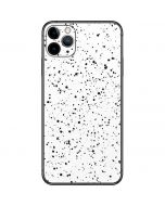 White Speckle iPhone 11 Pro Max Skin