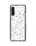 White Speckle LG Velvet Clear Case