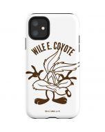 Wile E Coyote Big Head iPhone 11 Impact Case