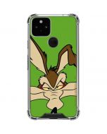 Wile E Coyote Zoomed In Google Pixel 5 Clear Case