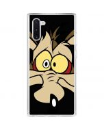 Wile E. Coyote Galaxy Note 10 Clear Case