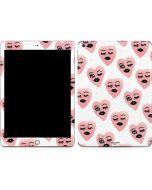 Winking Hearts Apple iPad Skin