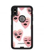 Winking Hearts Otterbox Commuter iPhone Skin