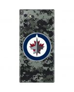 Winnipeg Jets Camo Galaxy Note 10 Skin