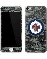 Winnipeg Jets Camo Apple iPod Skin