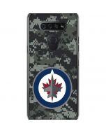 Winnipeg Jets Camo LG K51/Q51 Clear Case