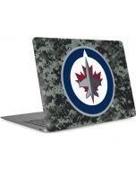 Winnipeg Jets Camo Apple MacBook Air Skin