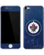 Winnipeg Jets Distressed Logo Apple iPod Skin