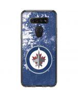 Winnipeg Jets Frozen LG K51/Q51 Clear Case