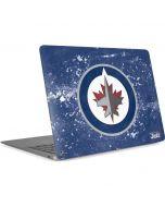 Winnipeg Jets Frozen Apple MacBook Air Skin
