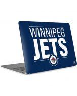 Winnipeg Jets Lineup Apple MacBook Air Skin