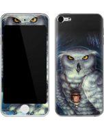 White Owl Apple iPod Skin