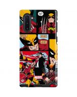 Wolverine Comic Collage Galaxy Note 10 Pro Case