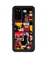 Wolverine Comic Collage Galaxy S20 Waterproof Case
